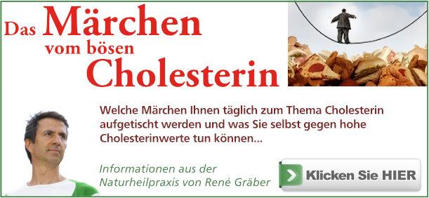 Buch - Das Märchen vom bösen Cholesterin von Rene Gräber