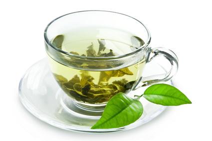 Tasse Grüner Tee