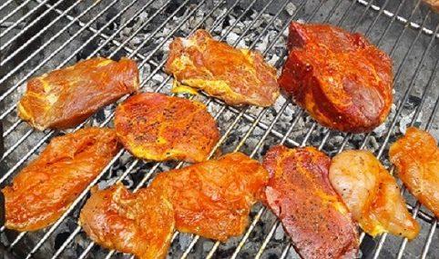 Fleisch Grill