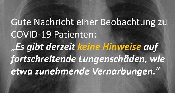 Lungenschäden durch Covid-19