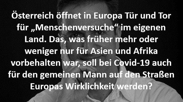 Österreich und sein Corona Gesetz